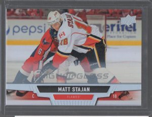 2013-14 Upper Deck High Gloss #281 Matt Stajan S#03/10