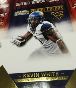 Kevin White Panini Contenders Draft Picks Gold