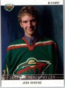 2002-03 BAP Memorabilia #369 Josh Harding