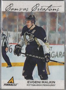 2011-12 Pinnacle Canvas Creations #11 Evgeni Malkin