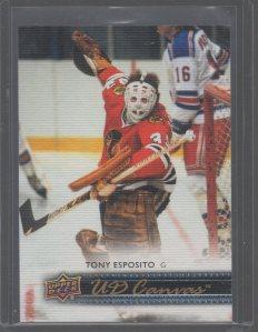 2014-15 Upper Deck Canvas #C250 Tony Esposito