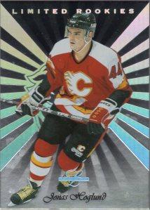 1996-97 Leaf Limited Rookies #10 Jonas Hoglund