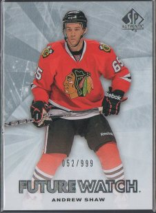 2011-12 SP Authentic #187 Andrew Shaw