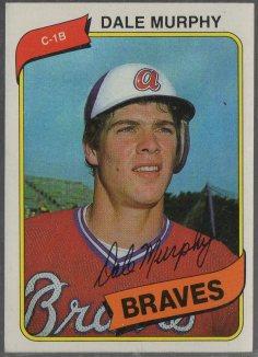 1980 Topps #274 Dale Murphy