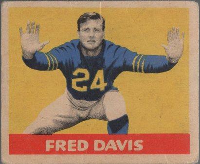 1949 Leaf #118 Fred Davis