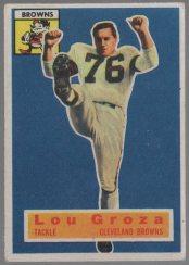 1956 Topps #9 Lou Groza