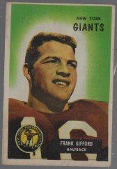 1955 Bowman #7 Frank Gifford