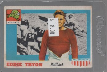1955 Topps All American #42 Eddie Tryon SP