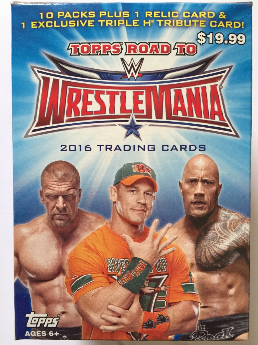 Retail Box Break: 2016 Topps WWE Road To Wrestlemania