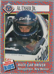 Al Unser Jr. 1989-91 Sports Illustrated for Kids #257