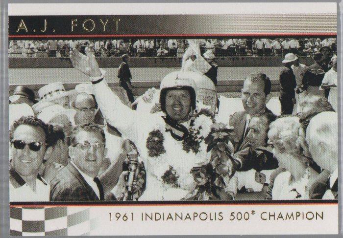 A.J. Foyt 2007 Rittenhouse IndyCar A.J. Foyt 50th Anniversary #02