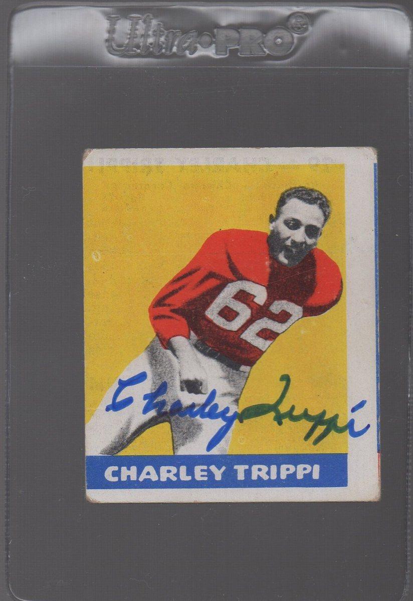 TTM Mailday - Charley Trippi