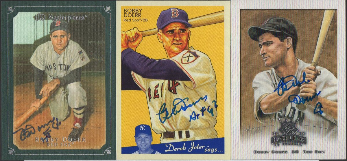 TTM Success - Bobby Doerr