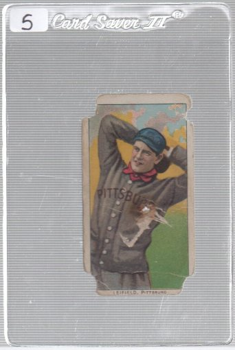 1909-11 The American Tobacco Company T206 White Border #NNO Lefty Leifield (Pitching Variation)