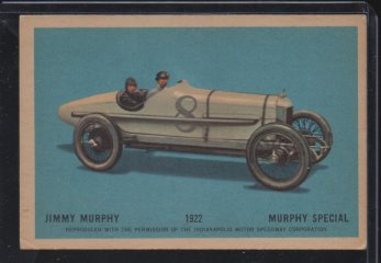 1960 Parkhurst Hawes Wax Indy #10 Jimmy Murphy