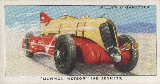 1938 Wills' Cigarettes #18 Ab Jenkins