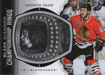2015-16 Black Diamond Championship Rings #CRAS Andrew Shaw