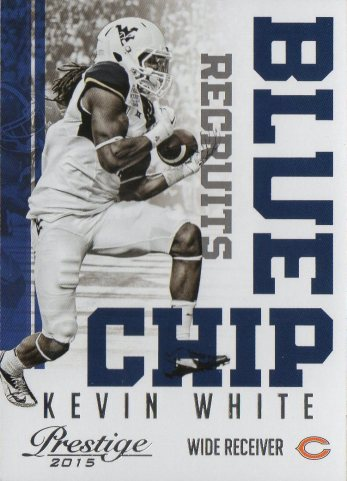 2015 Prestige Blue Chip Recruits #16 Kevin White
