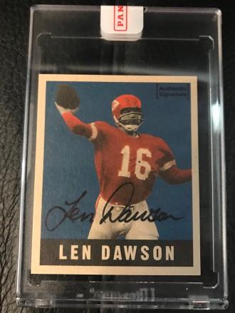 Lew Dawson 1997 Leaf